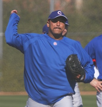Finally a Good Picture of Carlos Zambrano's Moustache