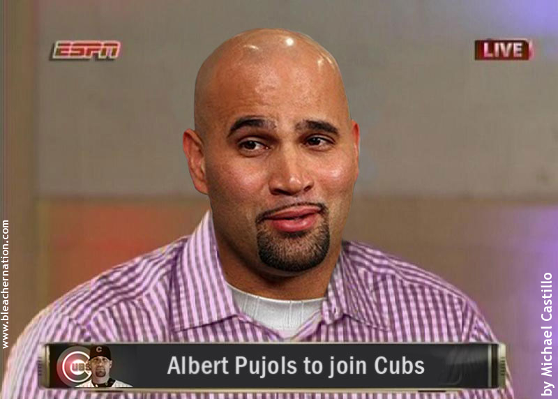 Report: Chicago Cubs Actively Pursuing Prince Fielder … AND Albert Pujols