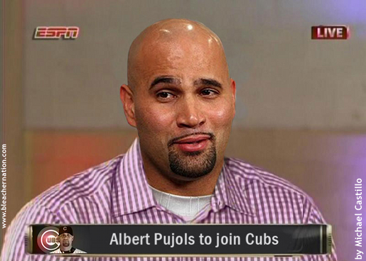 Obsessive Pujols Watch: Prognosticators Don't See Albert Pujols in Chicago