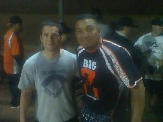 Carlos Zambrano: Softball Player