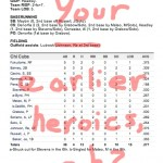 Enhanced Box Score: Padres 5, Cubs 4 – April 20, 2011 Game Two