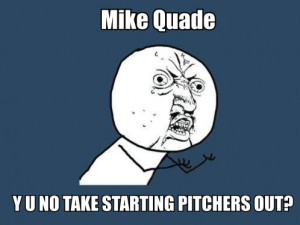 Angry at Mike Quade