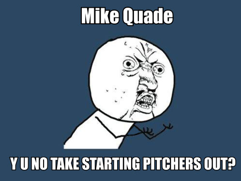mike quade loves starters