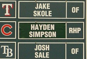 hayden simpson name plate