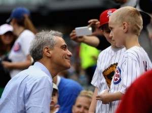 mayor emanuel cubs