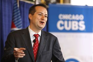 Tom Ricketts and Crane Kenney Speak About the Renovation and the TV Deal