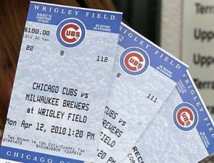 Many Chicago Cubs' Ticket Prices Will Be Slightly Lower in 2012