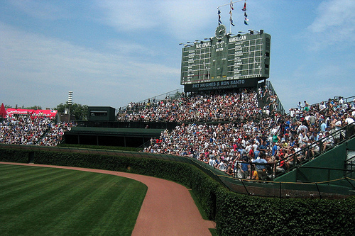 Wrigley Field is Number One and Other Bullets