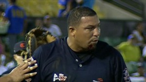 carlos zambrano face injury