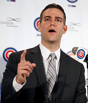 Theo Epstein Speaks on the Marshall Trade, on Travis Wood and the Prospects Acquired, and on Matt Garza