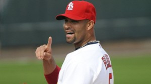 albert pujols hold on