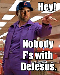 nobody f's with david dejesus cubs
