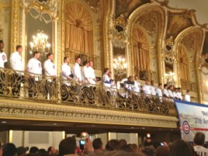 cubs players at CubsCon