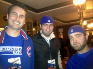 danny matt and steve at CubsCon
