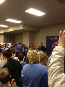 reed johnson is popular at CubsCon