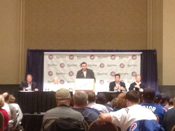scouting panel at CubsCon