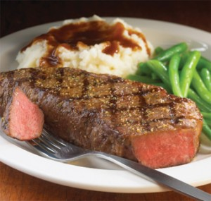 steak meal food