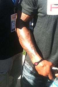 marlon byrd tattoo