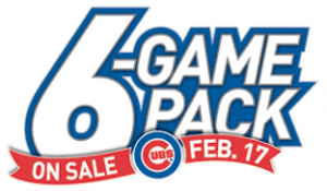 Chicago Cubs Now Offering Six-Game Ticket Packs for 2012