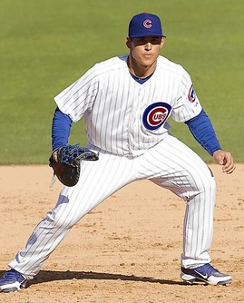 Everybody's Flipping Their Biscuit About Anthony Rizzo Leaving Tonight's Iowa Cubs Game (UPDATE: Sore Wrist)