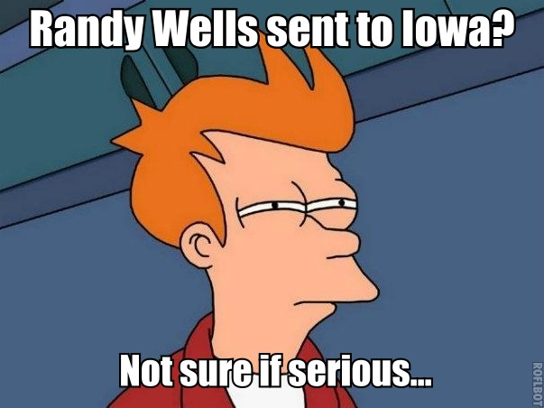 fry not sure about wells