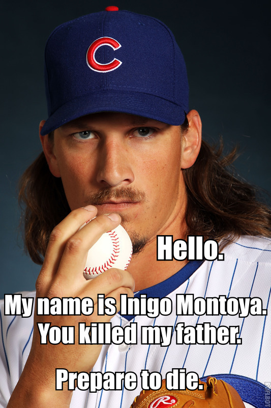 Jeff Samardzija is Inigo Montoya