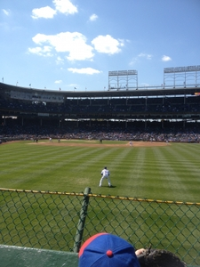 wrigley field from righ