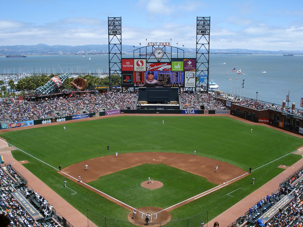At t park san francisco attractions review 10best for Dining options at at t stadium