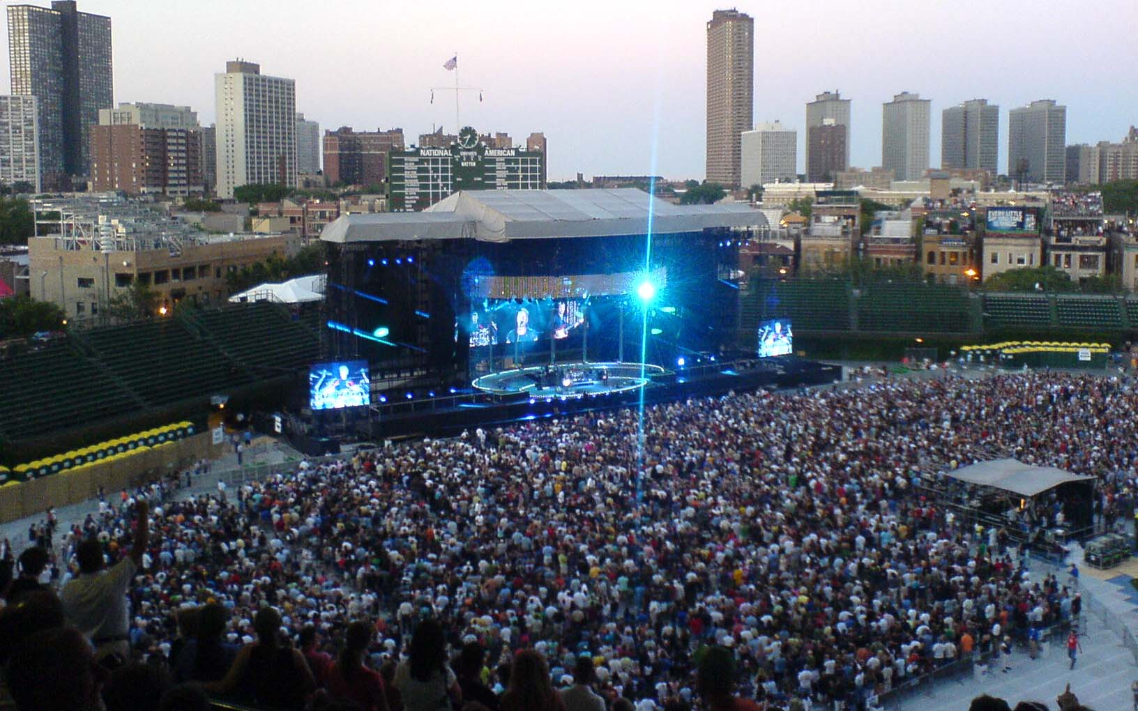 You Can't Find a Better Concert Park Than Wrigley Field and Other Bullets