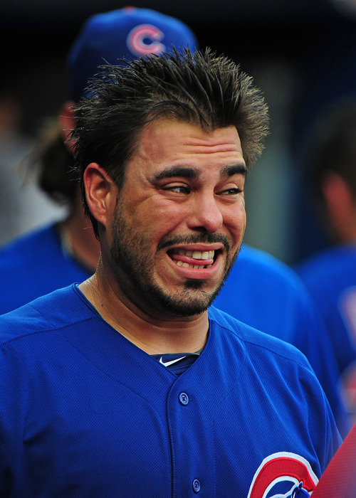 Let's All Take a Deep Breath, and Caption This Geovany Soto Picture