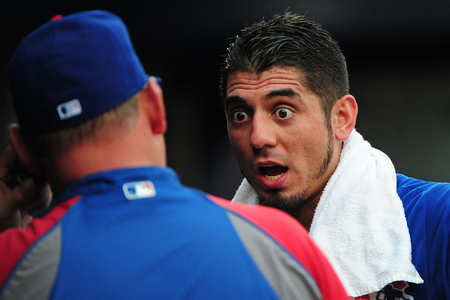 matt garza shocked
