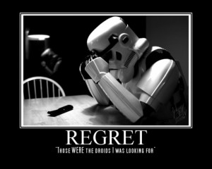regret storm trooper