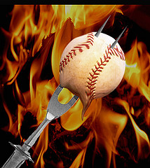 baseball barbecue
