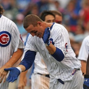 anthony rizzo happy celebration