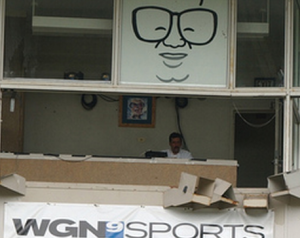 cubs broadcast booth