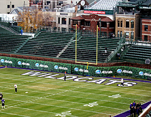 football wrigley field