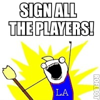 How the Dodgers Sign All the Players and Other Bullets