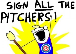 sign all the pitchers cubs