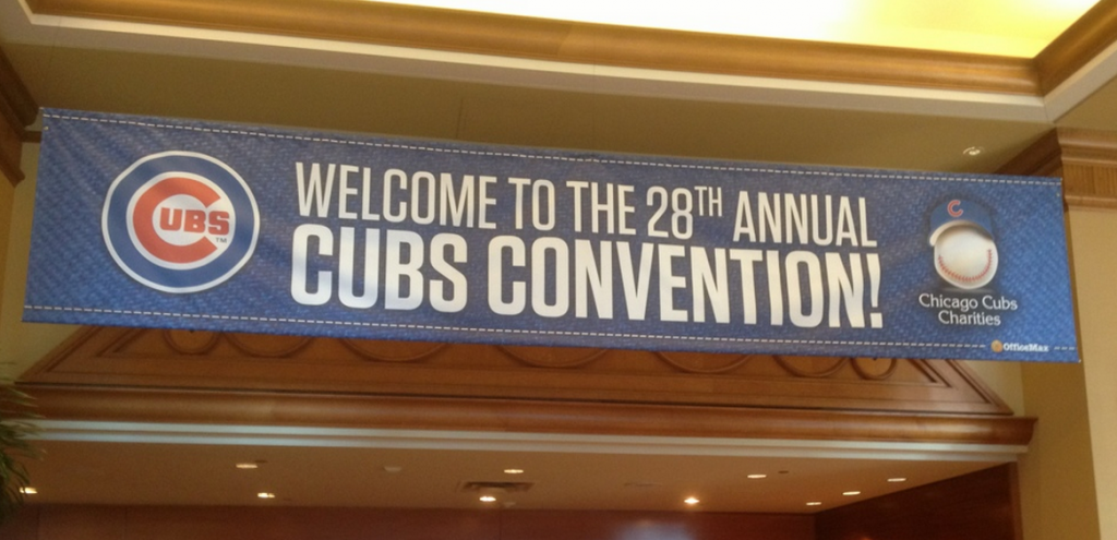 2013 cubs convention banner