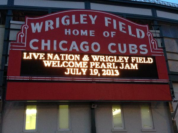 It's Official: Pearl Jam Playing at Wrigley Field on July 19