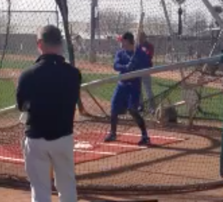 Brett Jackson's New Swing in Action (VIDEO)
