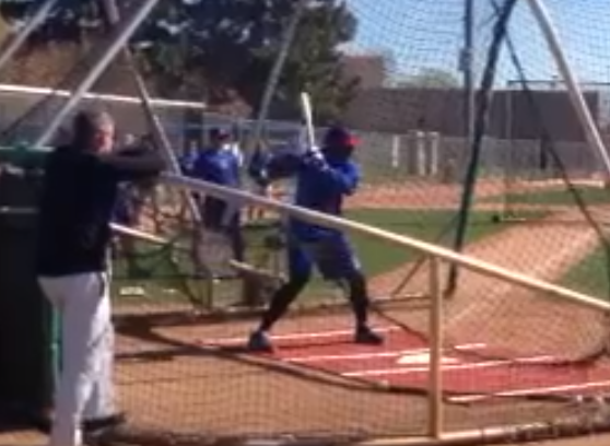 Jorge Soler is Getting a Whole Lotta Love in Mesa (Plus Batting Practice VIDEO)