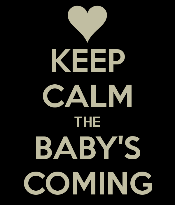 Well, the Baby's Coming: Here's Your Open Thread in the Meantime