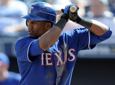 Chicago Cubs Claim Outfielder Julio Borbon Off of Waivers from Rangers (UPDATE: Gonzalez DFA'd)
