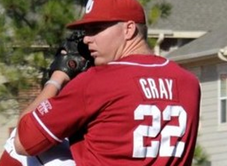 Cubs Brass Visits Oklahoma Pitcher Jonathan Gray