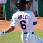 Javier Baez's Bat Doesn't Just Imperil Stationary Cars