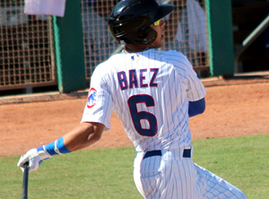 Javier Baez Crushes One for the Iowa Cubs Tonight (VIDEO)