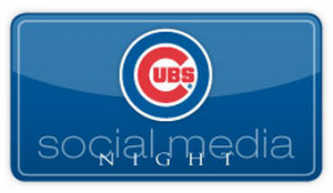 cubs social media night