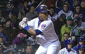 starlin castro at the plate