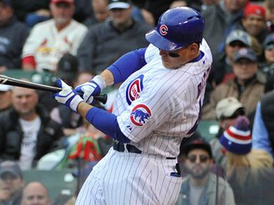 Anthony Rizzo Hit a 441-Foot, 108-MPH Home Run (VIDEO)